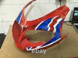 Triumph Daytona 955i Red Union Jack Front Fairing NEW 2004-06