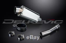 Triumph Daytona 955i SS70 9 Stainless Steel Oval Muffler Exhaust Slip On 01 02