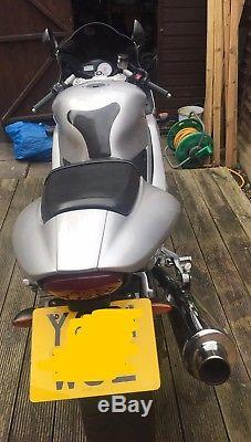 Triumph Daytona 955i Silver 2000 Great condition but NO MoT