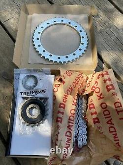 Triumph Daytona 955i Speed Triple Chain And Sprocket Set P/n T2017430 106/42/18