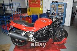 Triumph Daytona 955i T595 Bj. 1999 Schalldämpfer ESD Endtopf Auspuff 56588599