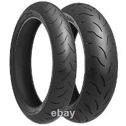 Triumph Daytona 955i T595 Bridgestone Battlax BT016 PRO Tyre Pair 120/70-190/50