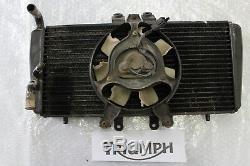 Triumph Daytona 955i T595 Kühler Wasserkühler Watercooler Radiator Lüfter #R3720