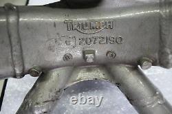 Triumph Daytona 955i T595 Rahmen Hauptrahmen mit Papieren Main Frame #R3720