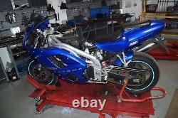 Triumph Daytona 955i T595N Bj. 2002 Einspritzanlage Drosselklappen