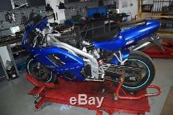 Triumph Daytona 955i T595N Bj. 2002 Schalldämpfer ESD Endtopf Auspuff