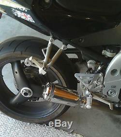 Triumph Daytona 955i exhaust pipe 2002 2003 2004 2005 2006 XB08 Extremeblaster