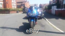 Triumph Daytona 955i motorcycle 2003 in caspian blue