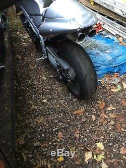 Triumph Daytona 955i t595 SNAKE UNDERSEAT Exhaust & Heat Shield