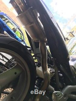 Triumph Daytona 955i t595 SNAKE UNDERSEAT Exhaust & Heat Shield