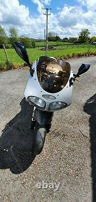 Triumph Daytona 955i under seat exhaust low miles sliver one of a kind not t595