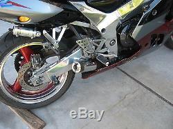 Triumph Daytona Speed Triple 955i-T595 exhaust 1997 2001 XB08SS Extremeblaster