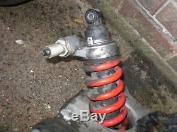 Triumph Daytona Sprint 955i 1050 Single Sided Swing Arm Set Up Bobber Custom