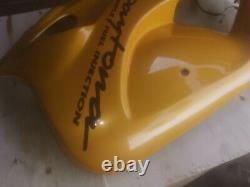 Triumph Daytona T595 955i 1997/1998 Strontium Yellow Left Main Fairing Panel