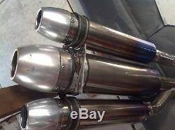 Triumph Daytona T595 T509 955i Speed Triple Custom Made Exhaust