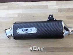 Triumph Daytona T595 T509 955i Speed Triple Exhaust T. O. R High Level Very Rare