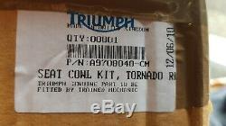Triumph Daytona seat cowl tornado red BRAND NEW UNASSEMBLED 955i A9708040-CM