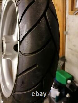 Triumph Daytona t595/955i wheels with tyres excellent condition low miles