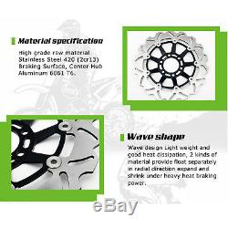 Triumph Front Rear Brake Discs Disks Daytona 955i 02-06 Speed Triple 955 02-04