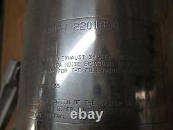Triumph OEM Exhaust Silencer with Footpeg 1997 2006 Daytona 955i 2201850 2080490
