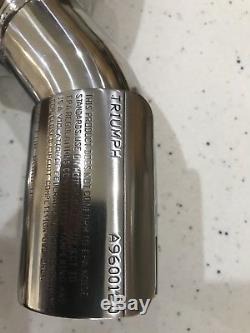 Triumph Speed Triple 955i High Level Silencer, Daytona Carbon Exhaust A9600120