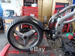 Triumph daytona 955i 1999 single sided swing arm, custom, cafe racer bobber etc