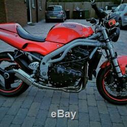 Triumph speed triple 955i t595 daytona small project Gsxr r6