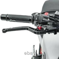 V-Trec Bremshebel + Kupplungshebel kurz/lang mit ABE Triumph Daytona 955i 99-03