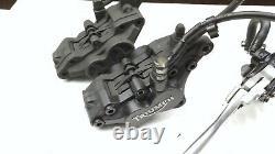 Vordere Bremse Triumph 955i Daytona T595 front brake assy